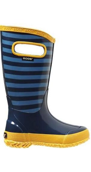 Bogs Kids Rainboot Stripe Blue